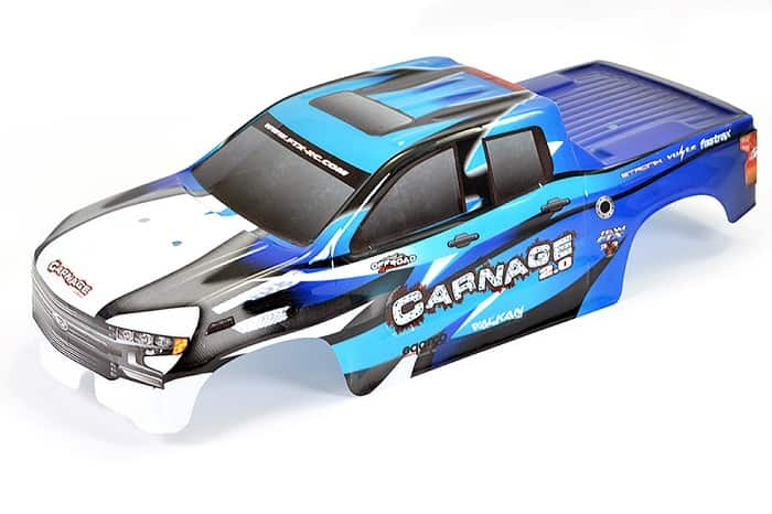 FTX CARNAGE 2 BLUE PRINTED BODYSHELL