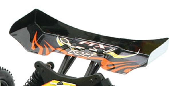 FTX COLT BUGGY TAIL WING BLACK/ORANGE