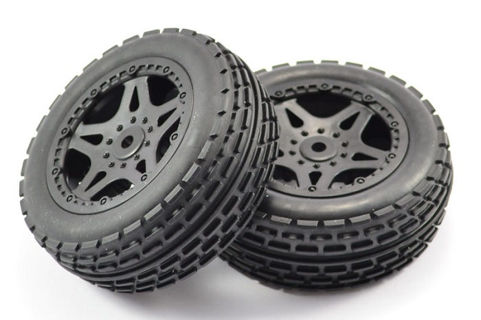 FTX SURGE FRONT BUGGY MOUNTED WHEELS/TYRES (PR)