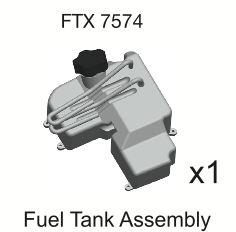 FTX PUNISHER FUEL TANK ASSEMBLY