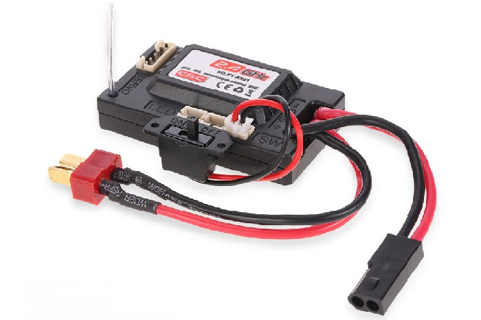 FY-RX01 2CH 40A ESC Receiver Box for 1/12 FY-01 FY-02 FY-03 Rock