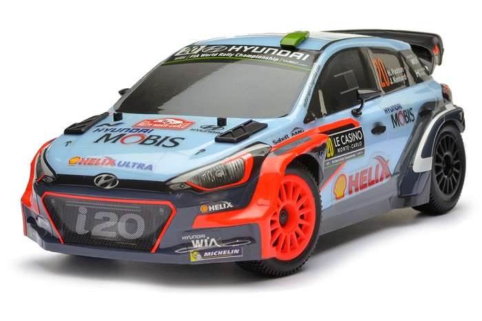 Carisma Gt24i20 Hyundai I20 Wrc Brushless 1 24th Rtr