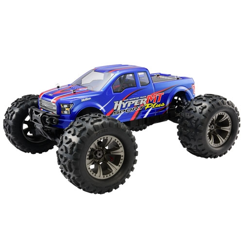 HOBAO HYPER MT PLUS PRINTED & CUT BODY - BLUE