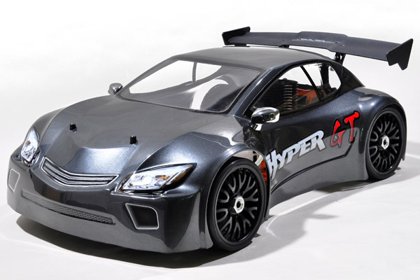 HoBao Hyper GT 1/8 Nitro RTR Rally Car - Grey