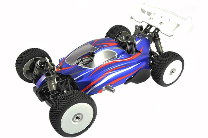 HOBAO HYPER SS 1/8 RTR BUGGY WITH HYPER 21 3-PORT,SAVOX,2.4GHZ R