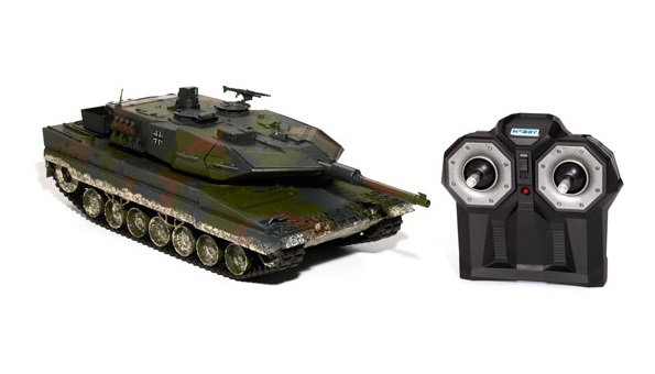 Hobby Engine Premium Label 2.4 Leopard 2A6 Bullet Shooting