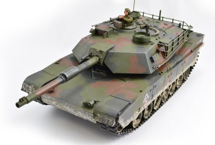 RC Tanks - Hobby Engine Premium Label RC M1A1 Abrams Tank