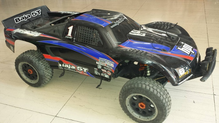 HPI BAJA 5T - 2.4Ghz - 1/5 Off Road RC Truck