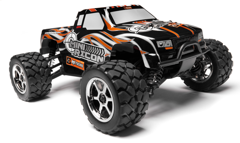 HPI MINI RECON - 1/18 ELECTRIC MONSTER TRUCK