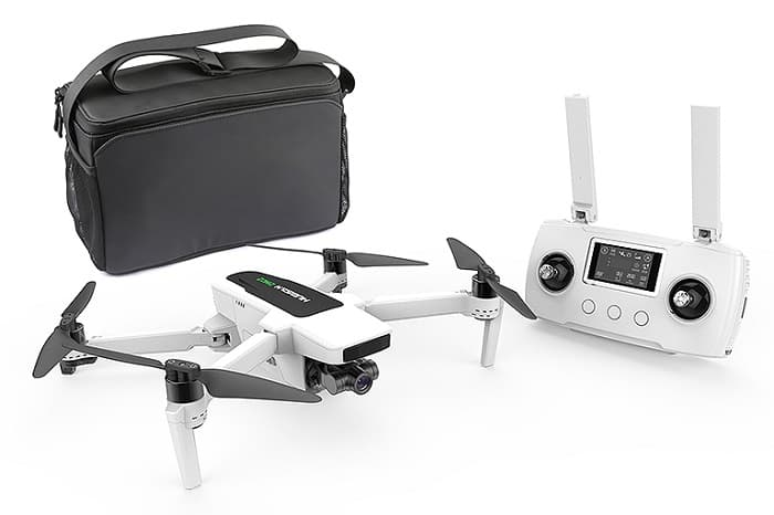 HUBSAN ZINO 2 FOLDING DRONE 4K W/STORAGE BAG & EXTRA BATTERY