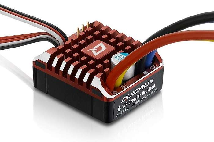 HOBBYWING QUICRUN WP 80AMP WATERPROOF BRUSHED CRAWLER ESC