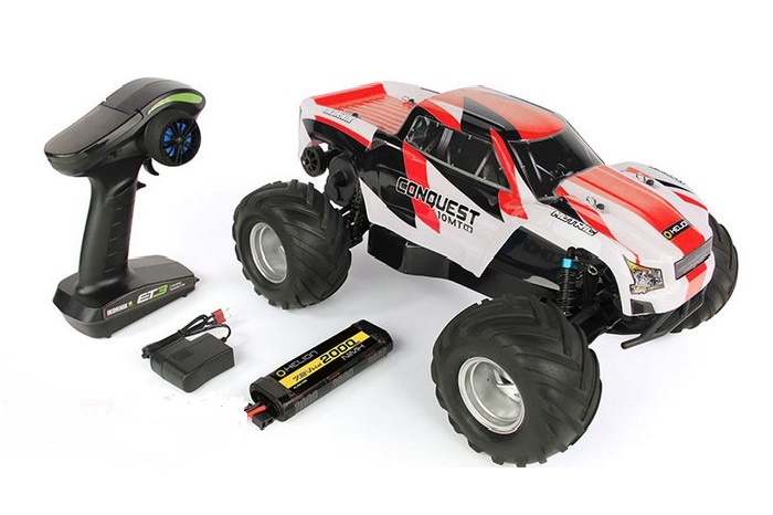 Conquest 10MT 1/10 Brushed RC Monster Truck
