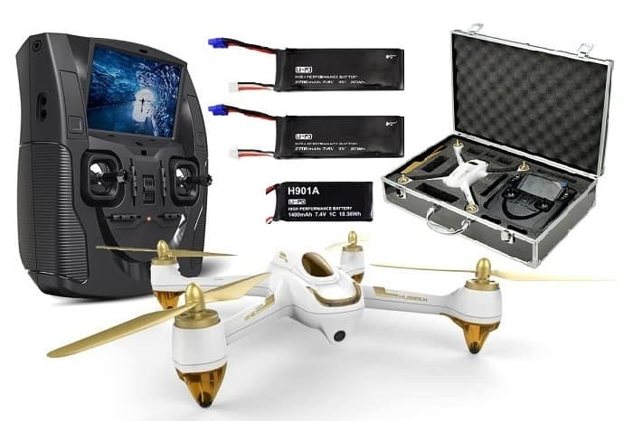 HUBSAN X4 H501S FLY MORE COMBO