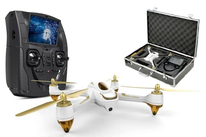HUBSAN X4 H501S WITH ALIMINIUM SUITCASE