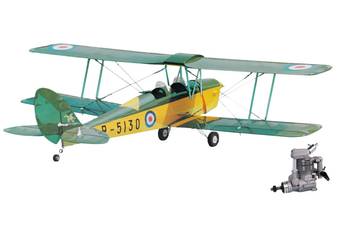JP TIGER MOTH 30 (1/7) RC AIRCRAFT (Inc. SC30FS ENGINE)