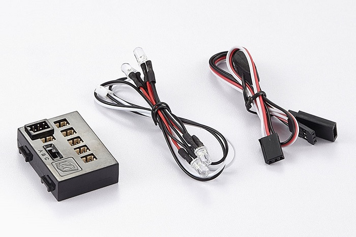 KILLERBODY LED LIGHT SYSTEM W/CONTROL BOX (4 LEDS)