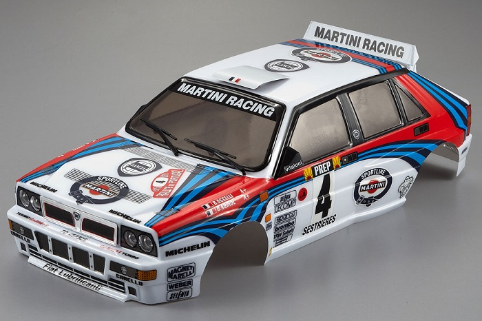LANCIA DELTA HF INTEGRALE 190MM FINISHED BODY