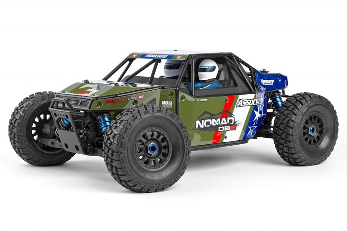 TEAM ASSOCIATED AE QUALIFIER SERIES NOMAD DB8 RTR 1/8 EP BUGGY