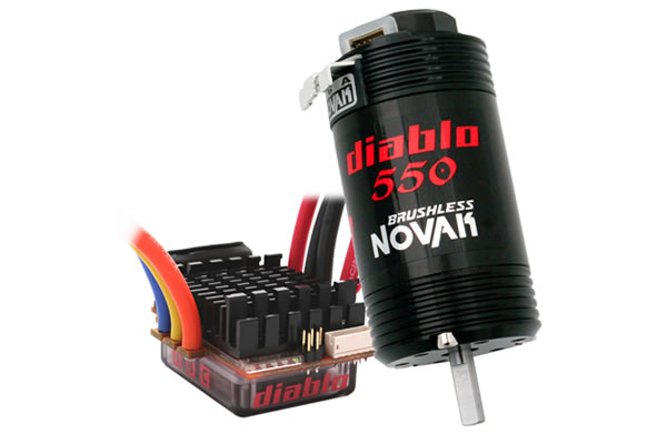 Novak Diablo Dual Battery Brushless System
