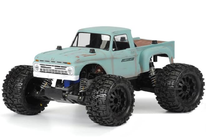 PROLINE 1966 FORD F-100 CLEAR BODY FOR TRAXXAS STAMPEDE