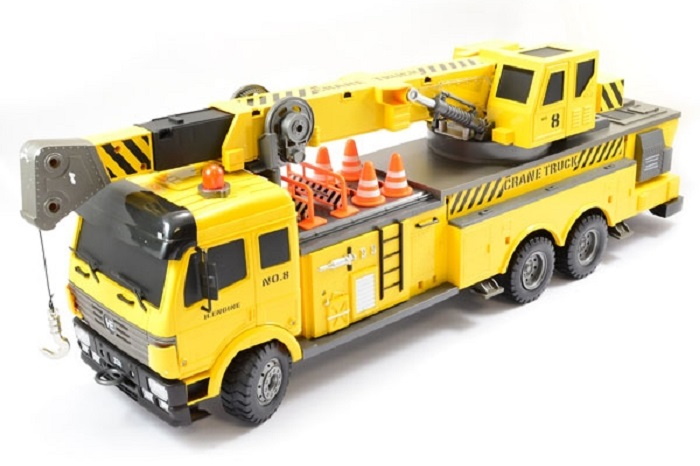 HOBBY ENGINE PREMIUM LABEL DIGITAL RC CRANE TRUCK