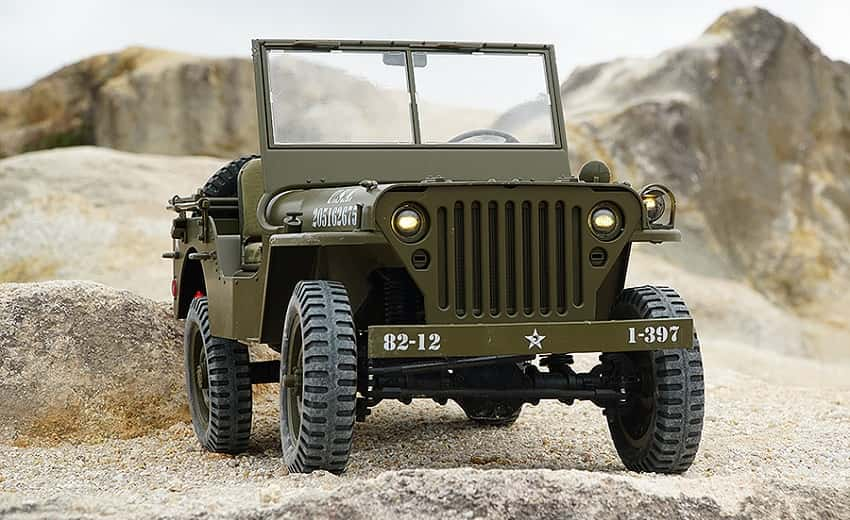 RC CAR 1/6 - RC JEEP WILLYS