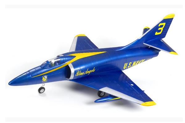 FMS A4 Skyhawk 64mm Ducted Fan Electric Foam RTF Jet with 2 4ghz