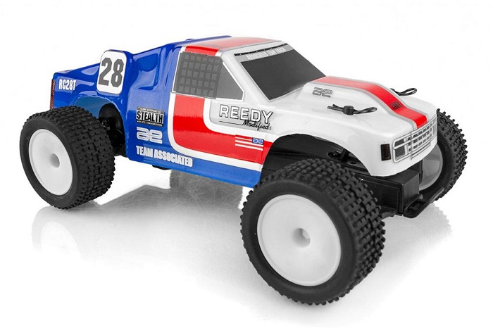 ASSOCIATED AE QUALIFIER SERIES RC28T 1:28 RACE TRUCK RTR