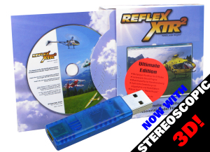 REFLEX XTR2 ULTIMATE W/O CABLE inc.3D GLASSES