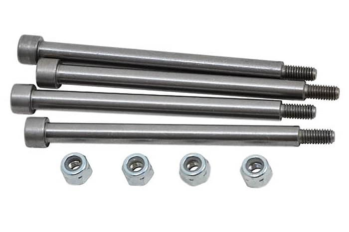 RPM THREADED HINGE PINS FOR TRAXXAS X-MAXX (4)