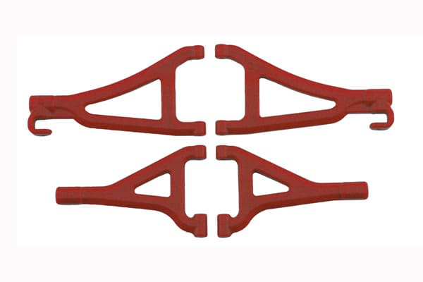 RPM TRAXXAS 1/16TH E-REVO FRONT A-ARMS RED