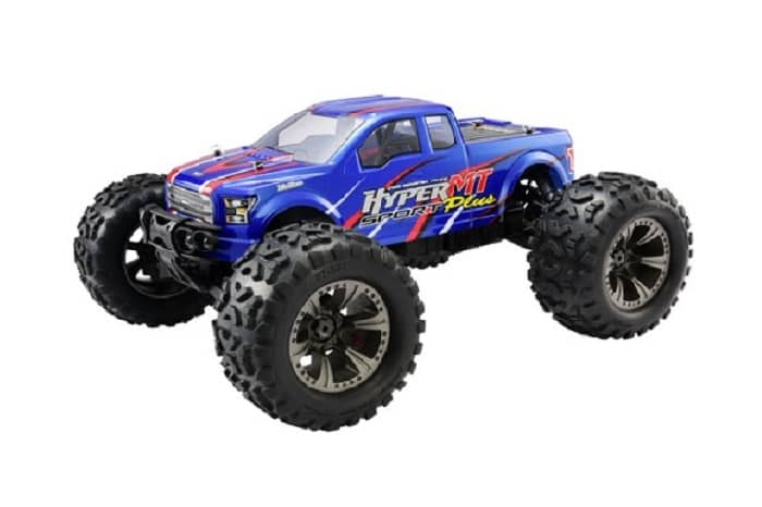 HOBAO HYPER MT SPORT PLUS ELECTRIC RTR w/HW150A ESC/SAVOX - BLUE