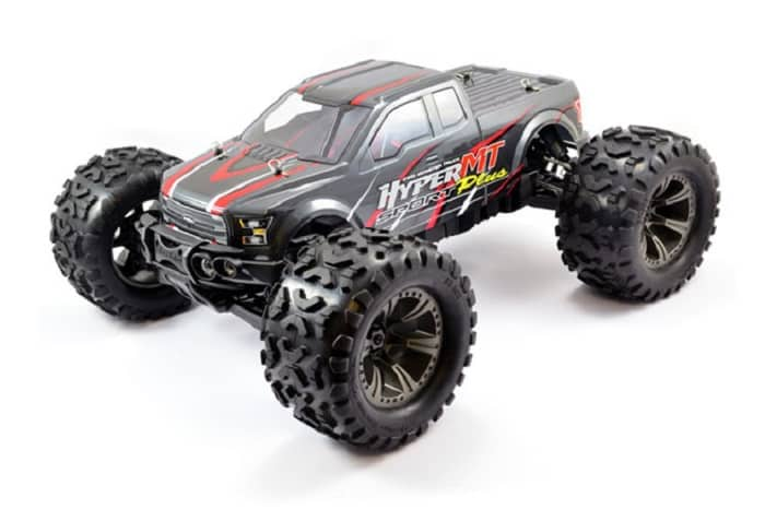 HOBAO HYPER MT SPORT PLUS ELECTRIC RTR w/HW150A ESC/SAVOX - GREY