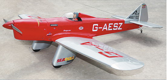 RC AIRPLANE - SEAGULL SPARROW HAWK 160-2.0 (SEA-71)