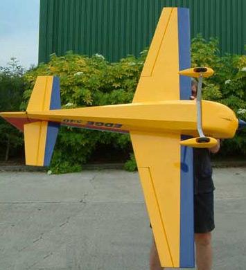 Top Gun Edge 540 RC Airplanes, Glow, GP Planes [TG1150
