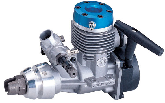Thunder Tiger Marine Engine PRO-21M - Click Image to Close