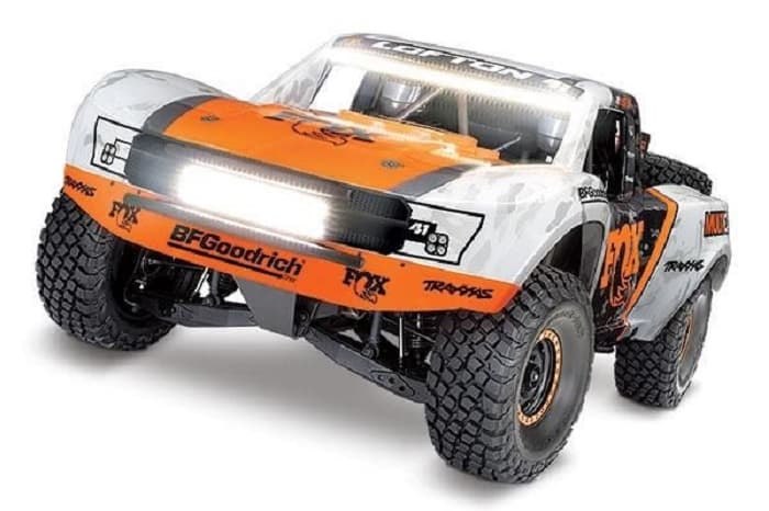 Traxxas Unlimited Desert Racer 4WD incl LED, TQi VXL-6S
