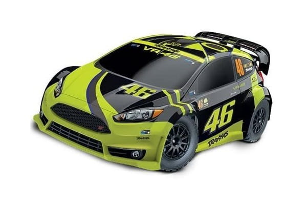 Traxxas Rally Ford Fiesta ST Electric Rally racer TQ 2.4 VR46