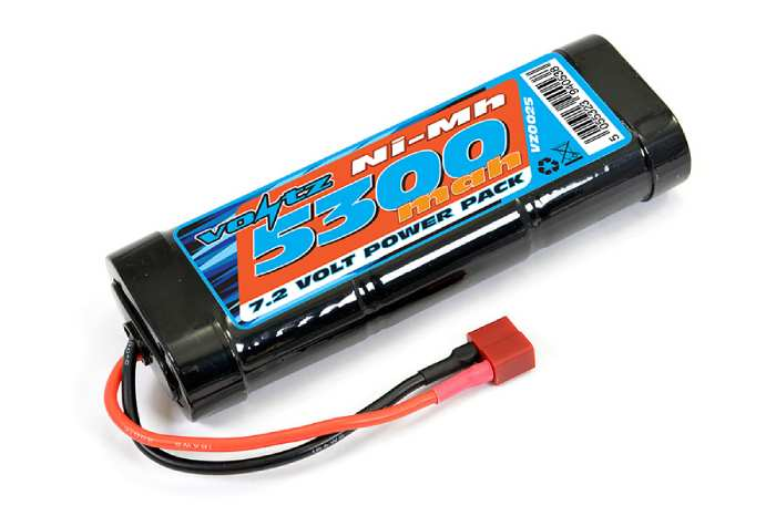 Voltz 5300mAh 7.2v Battery Stick Pack with Deans Connector