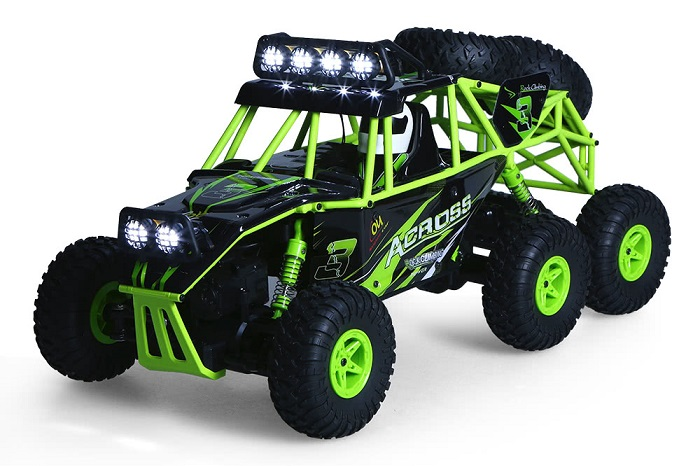 Wltoys 6WD Electric Off-Road Rock Crawler Climbing RC Buggy Car
