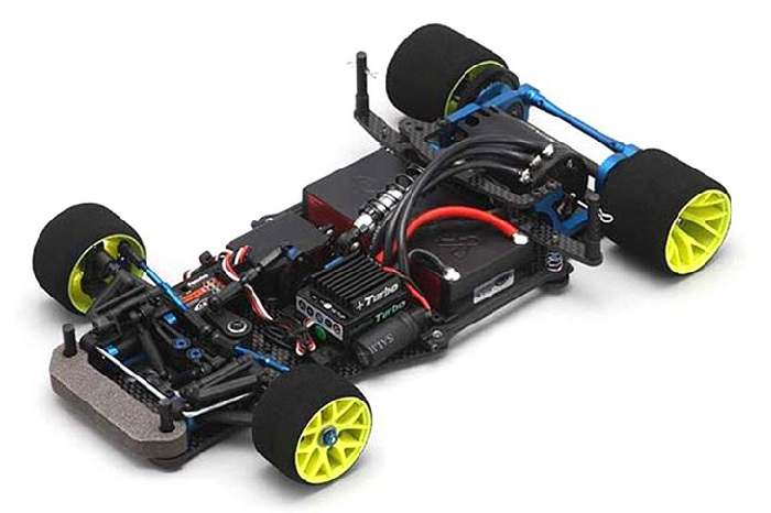 Yokomo R12C3 Competition 1/12 Scale Electric Pan Car Kit