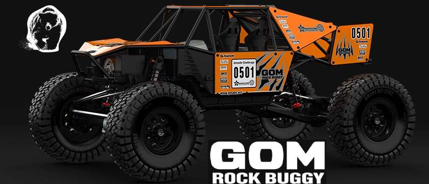 Gmade Gom Plus - Rock RC Buggy