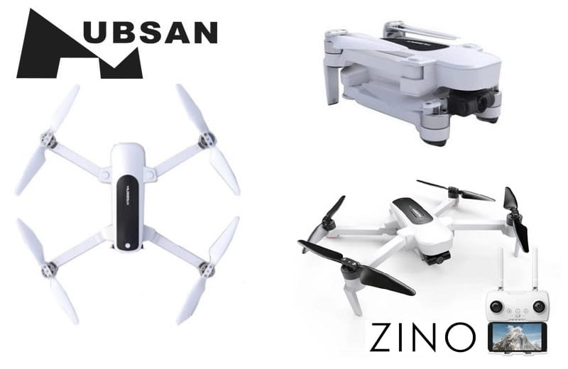HUBSAN ZINO - FOLDABLE DRONE - 4K CAMERA