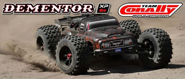 Corally Dementor 6s 1/8 RC Monster Truck
