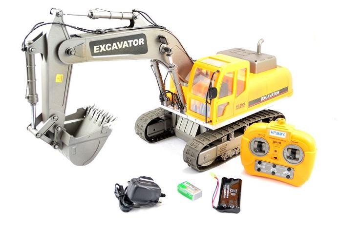 Hobby Engine RC Excavator - Τηλεκατευθυνόμενος Εκσκαφέας 966e64154f7