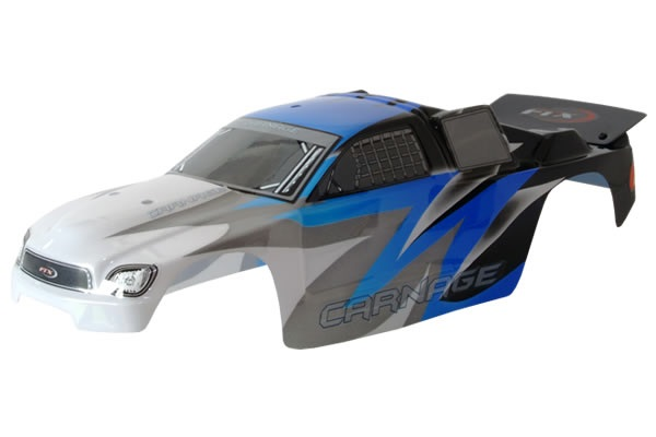 FTX CARNAGE ST PRINTED BODY - BLUE (BRUSHED)