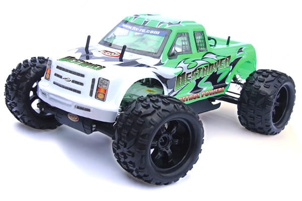 FTX Destroyer RTR 1/5 4WD Petrol RC Monster Truck : Βενζινοκίνητ