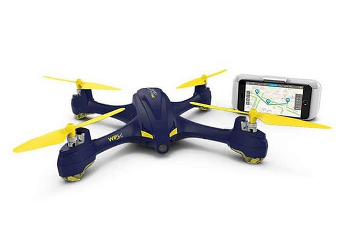 HUBSAN H507A X4 STAR PRO WITH GPS - WIFI DRONE WITH RELAY