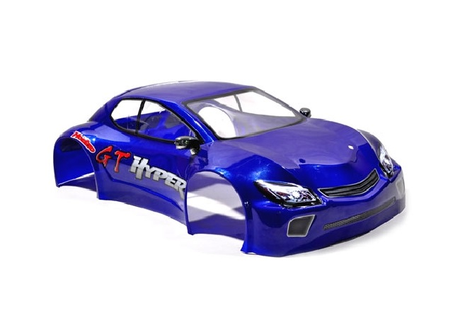 HOBAO HYPER GTS PAINTED BODY-LONG (BLUE)