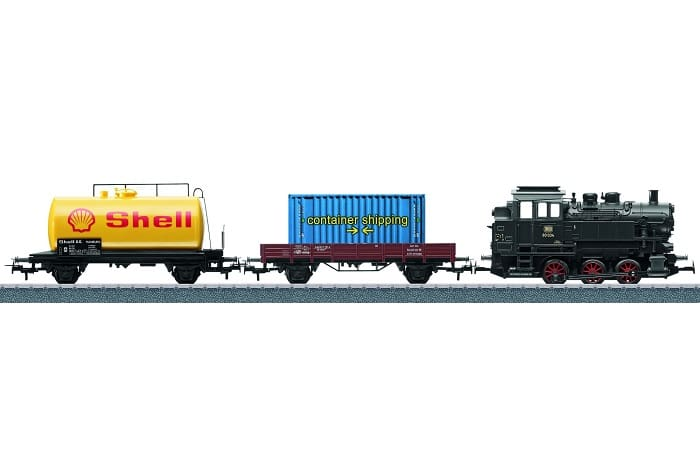 Marklin ho Gauge 29214 DB Br80 Digital Freight Starter Set